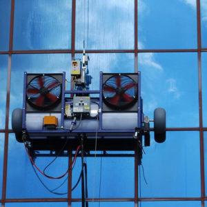 Limpieza de edificios robotizado