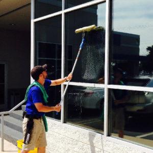 Limpieza de vidrio interior y exterior